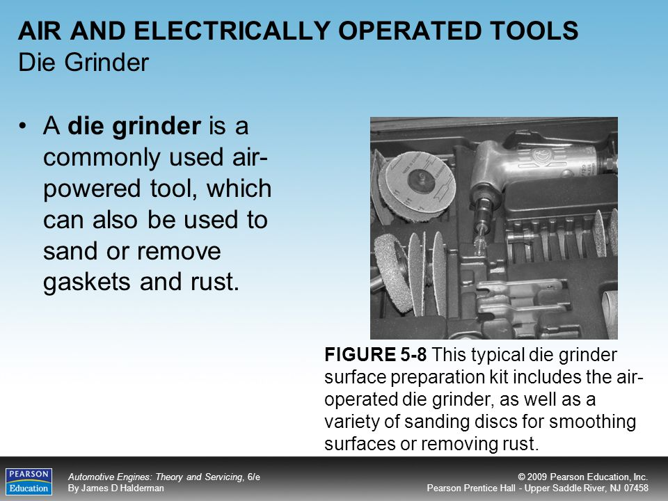 AIR AND ELECTRICALLY OPERATED TOOLS Die Grinder
