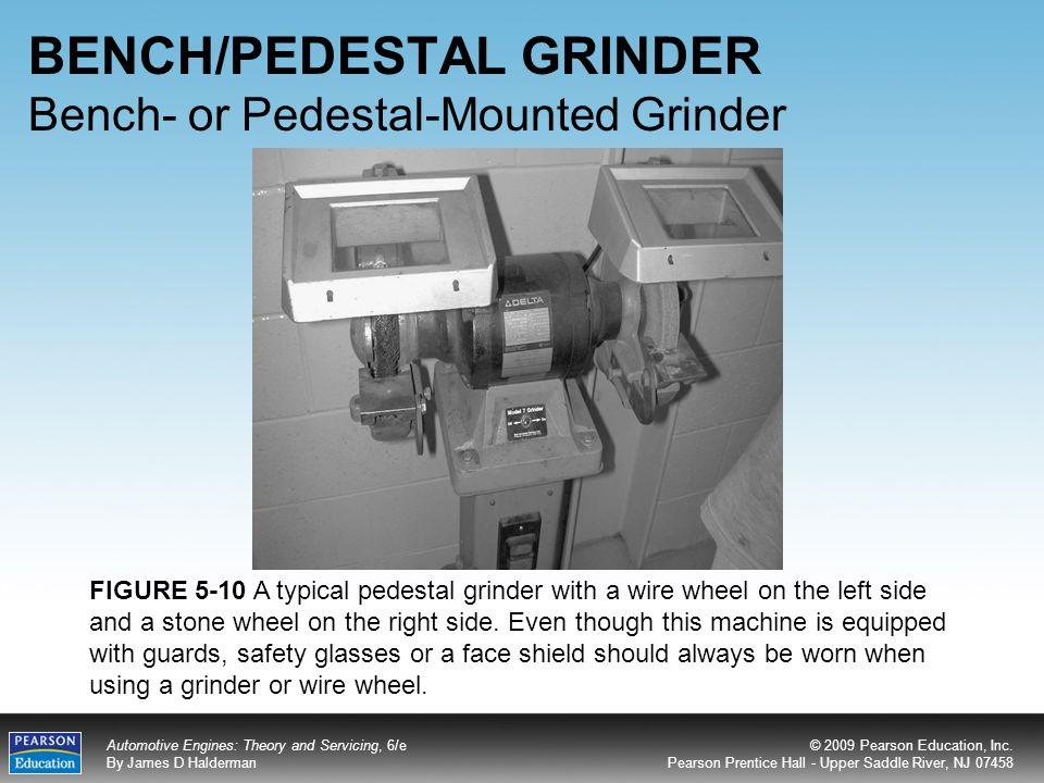 BENCH/PEDESTAL GRINDER Bench- or Pedestal-Mounted Grinder