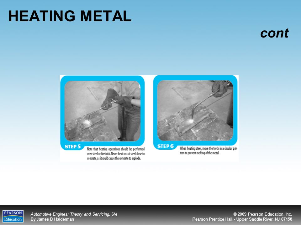 HEATING METAL cont