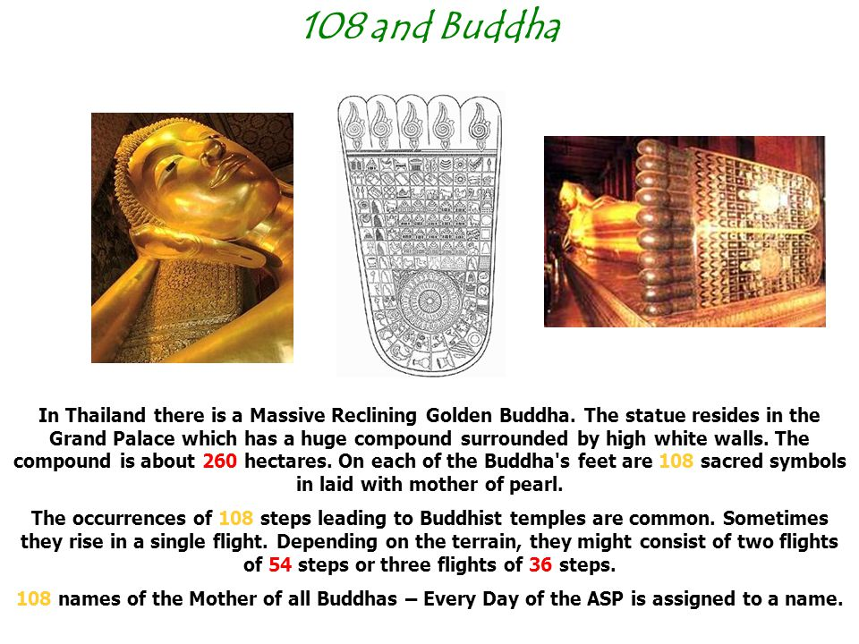 108 and Buddha