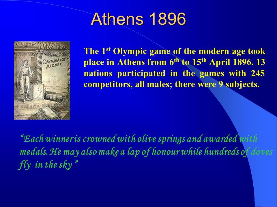 Athens 1896