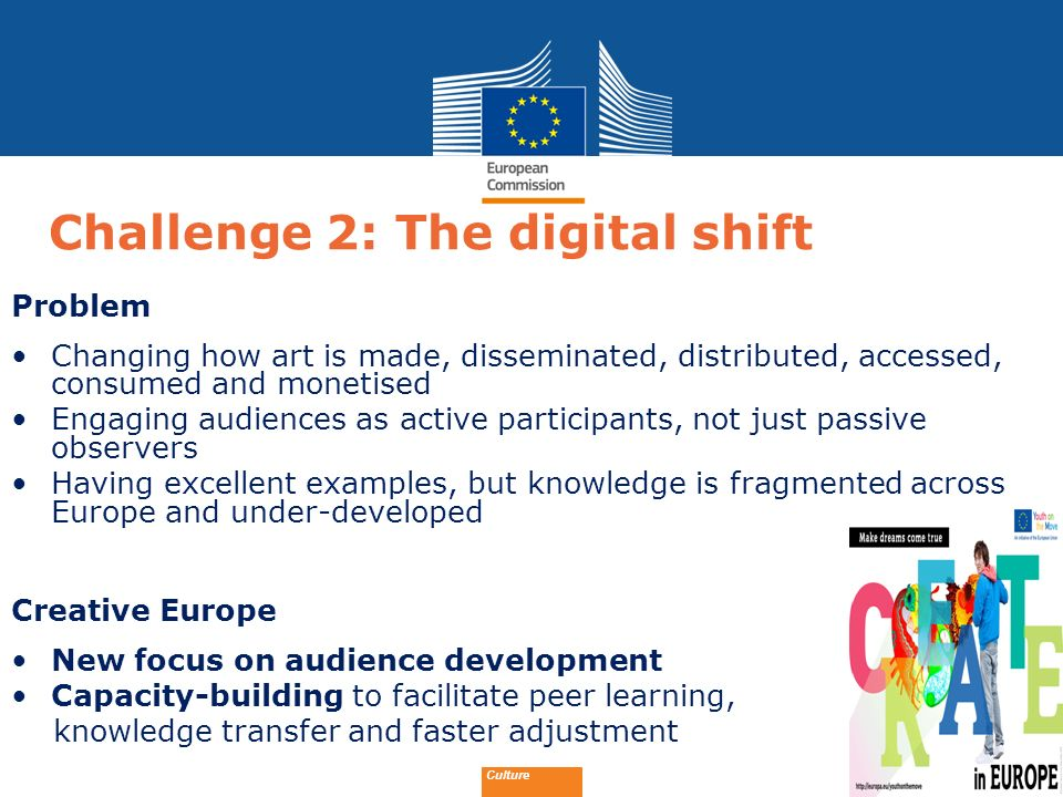 Challenge 2: The digital shift