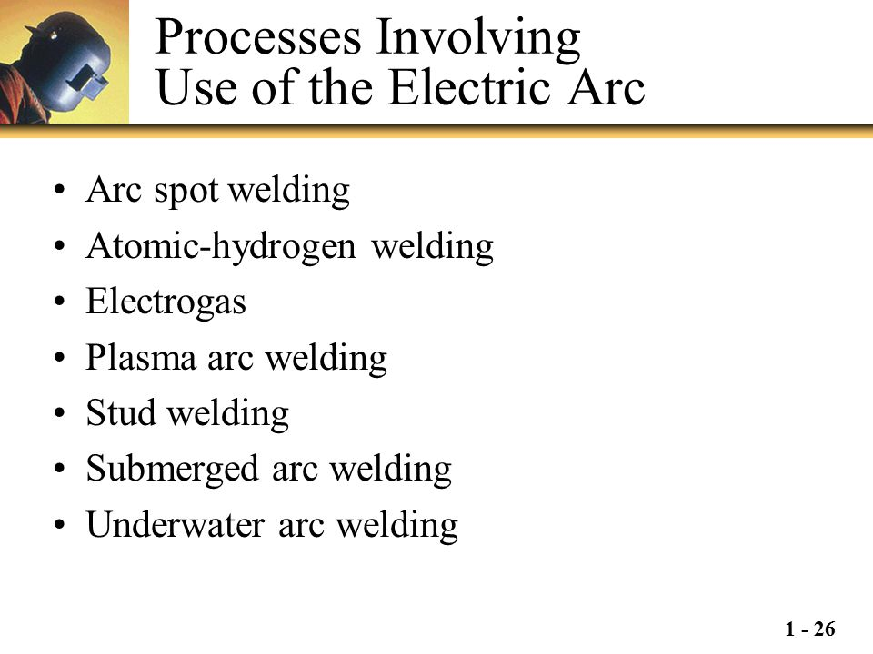 Processes Involving Use of the Electric Arc