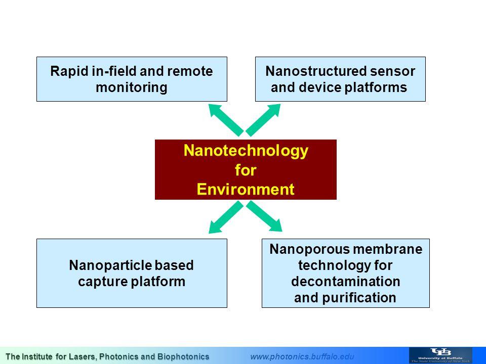 Rapid in-field and remote Nanostructured sensor