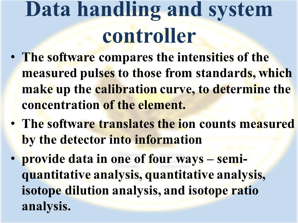 Data handling and system controller