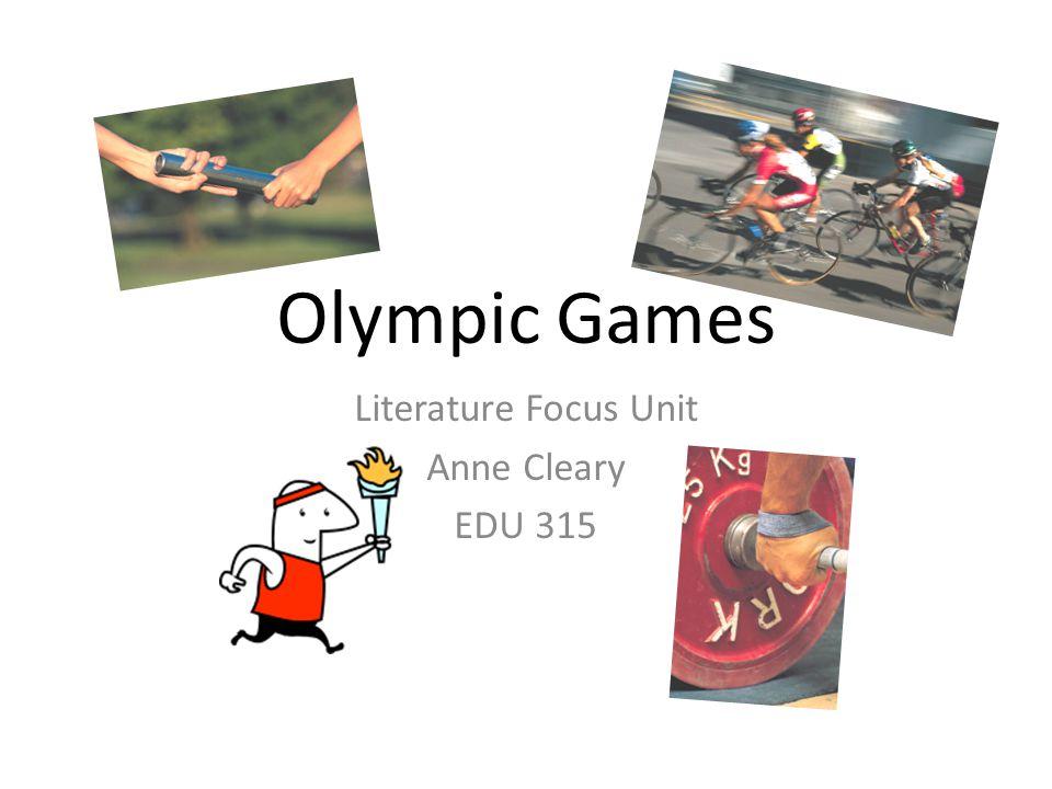 Literature Focus Unit Anne Cleary EDU 315