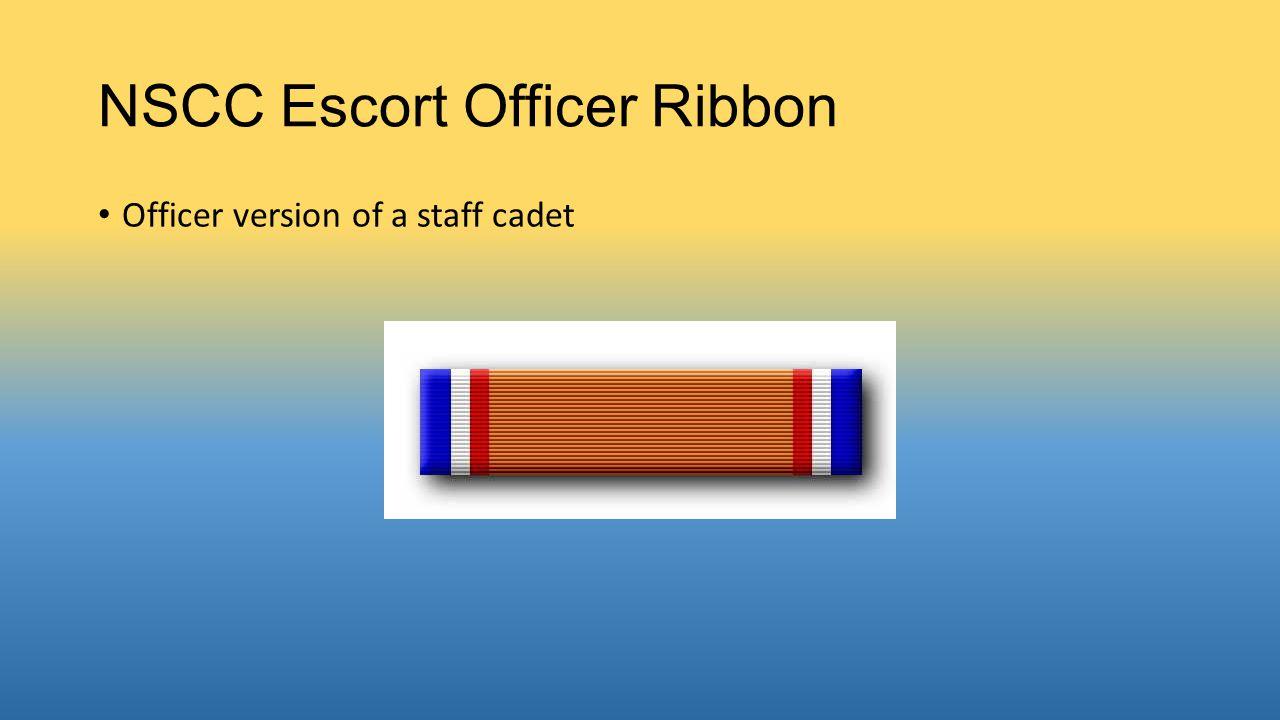 NSCC Escort Officer Ribbon