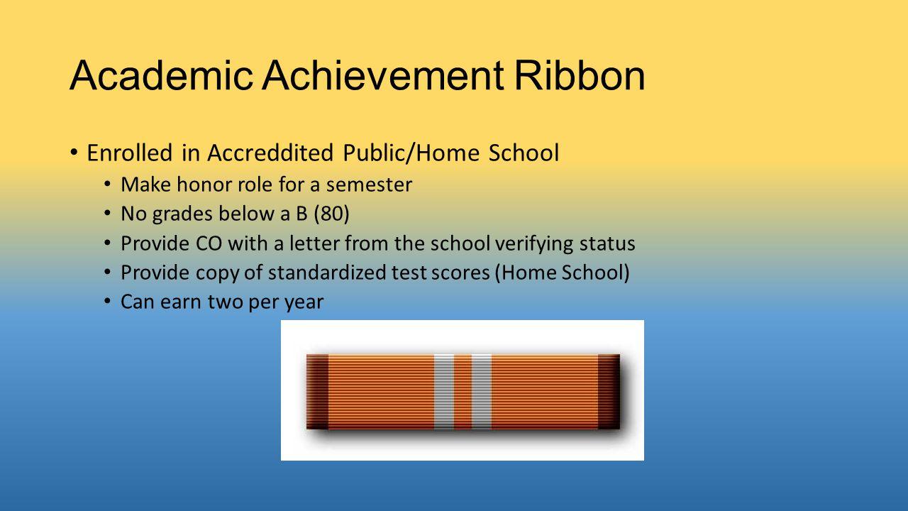 Academic Achievement Ribbon