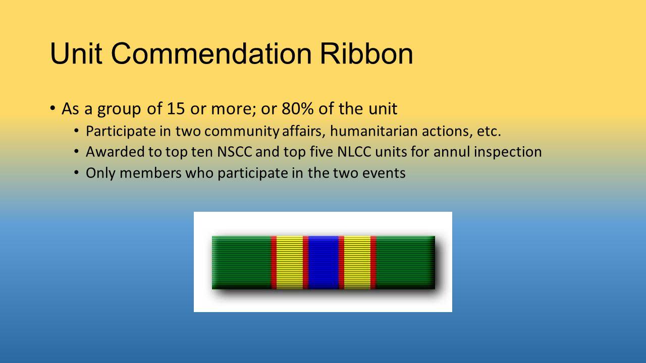 Unit Commendation Ribbon