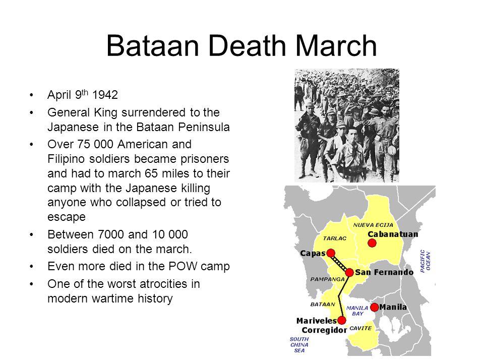 Bataan Death March April 9th 1942