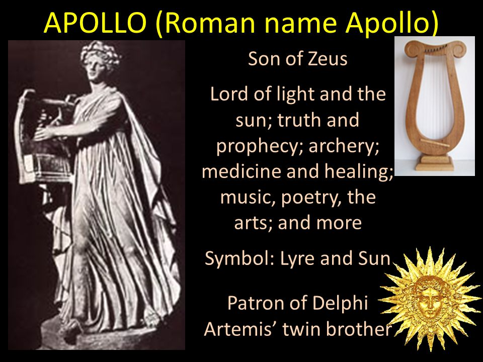 APOLLO (Roman name Apollo)