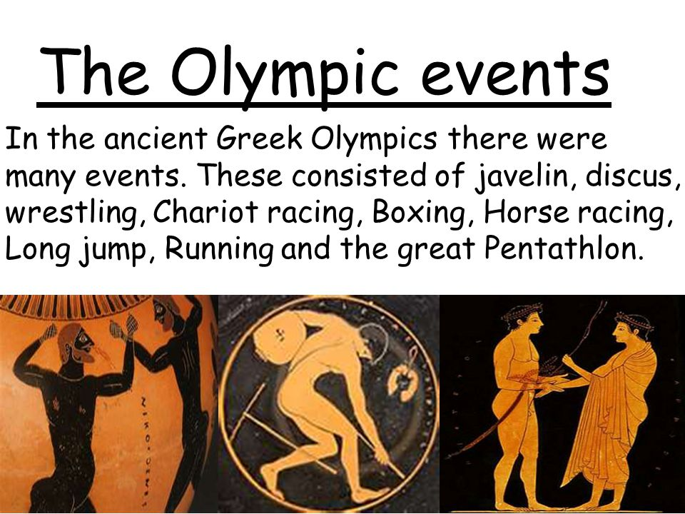 The Olympic events