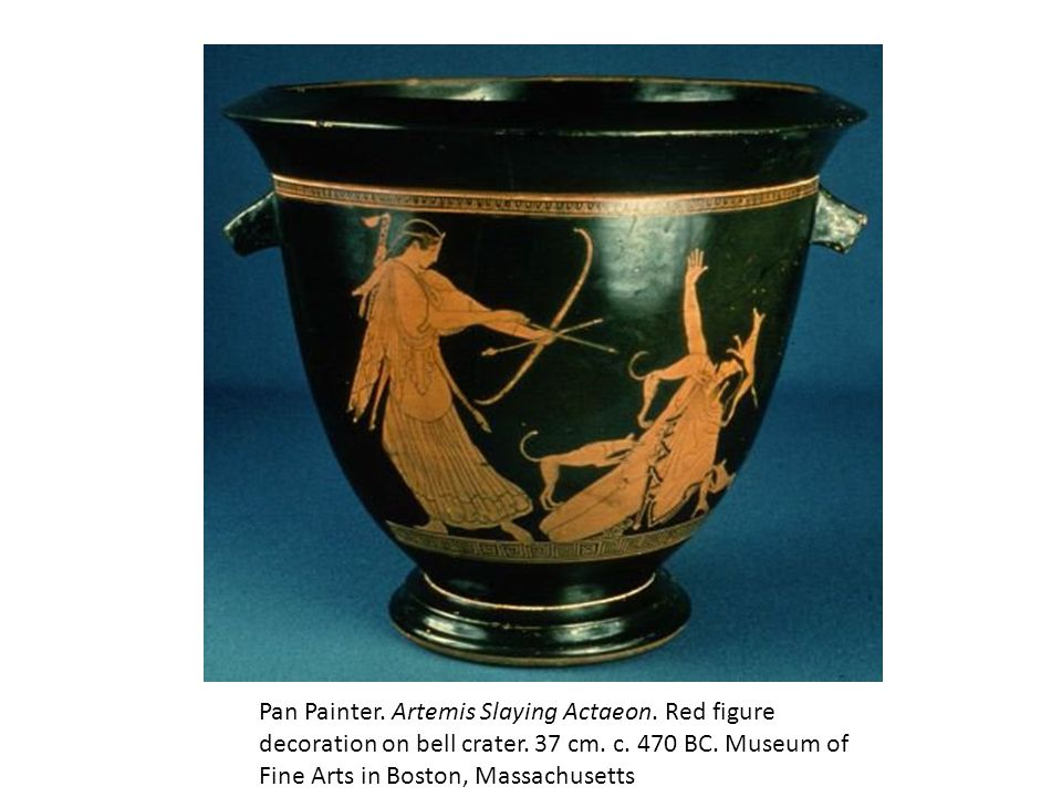 Pan Painter. Artemis Slaying Actaeon