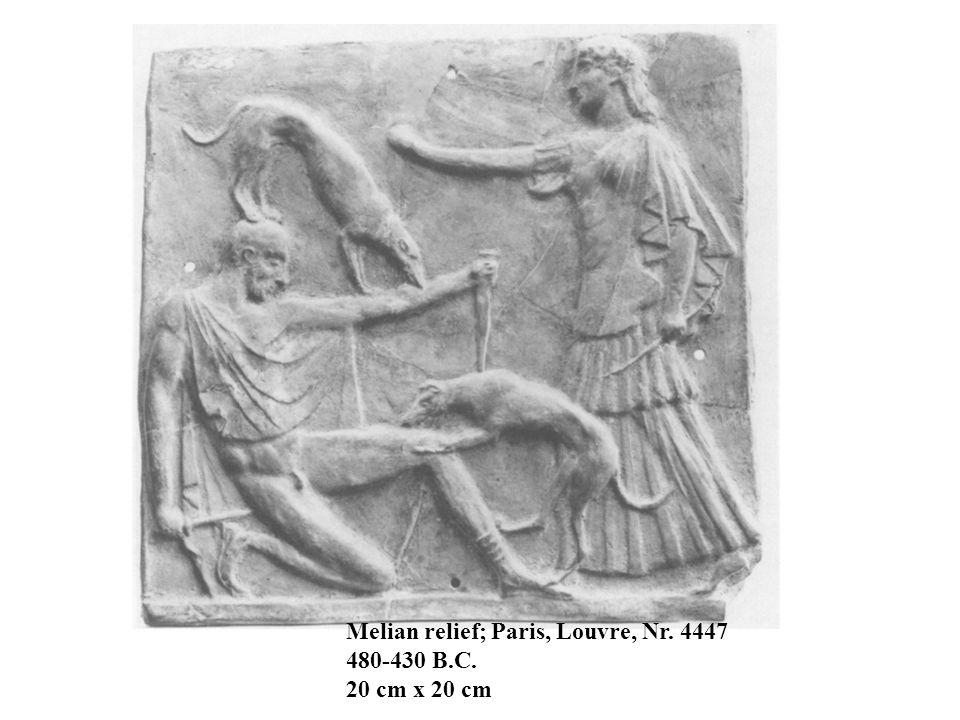 Melian relief; Paris, Louvre, Nr. 4447