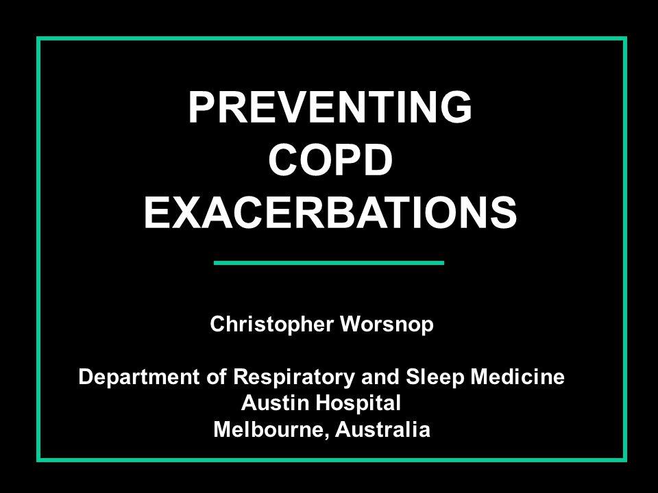 PREVENTING COPD EXACERBATIONS