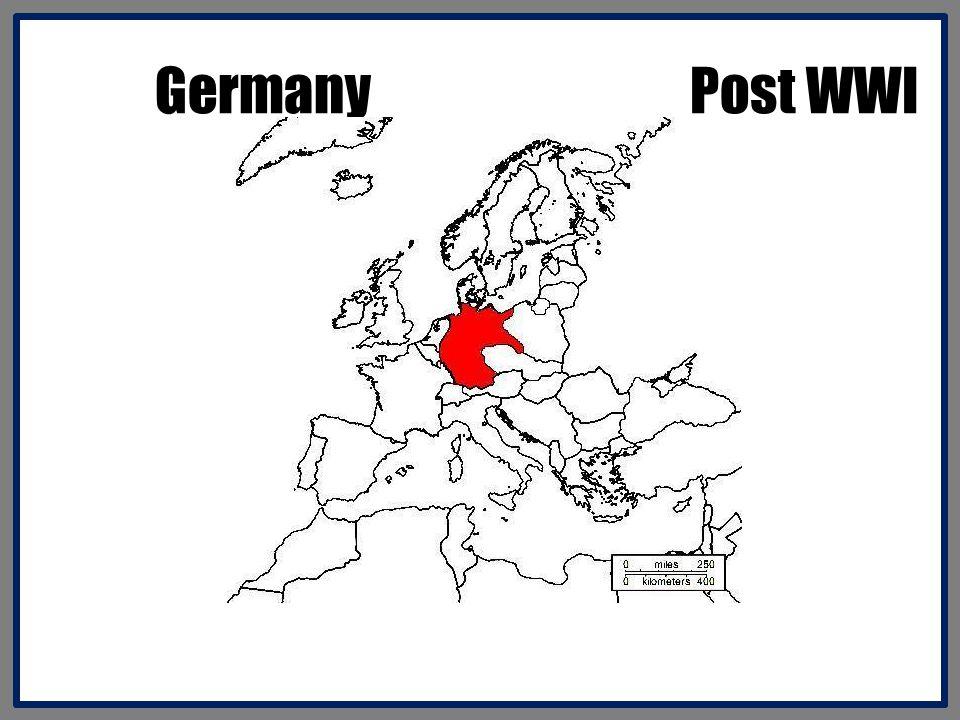 Germany Post WWI