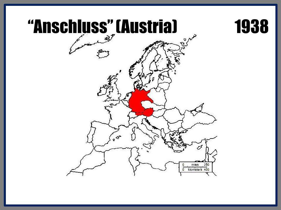 Anschluss (Austria) 1938