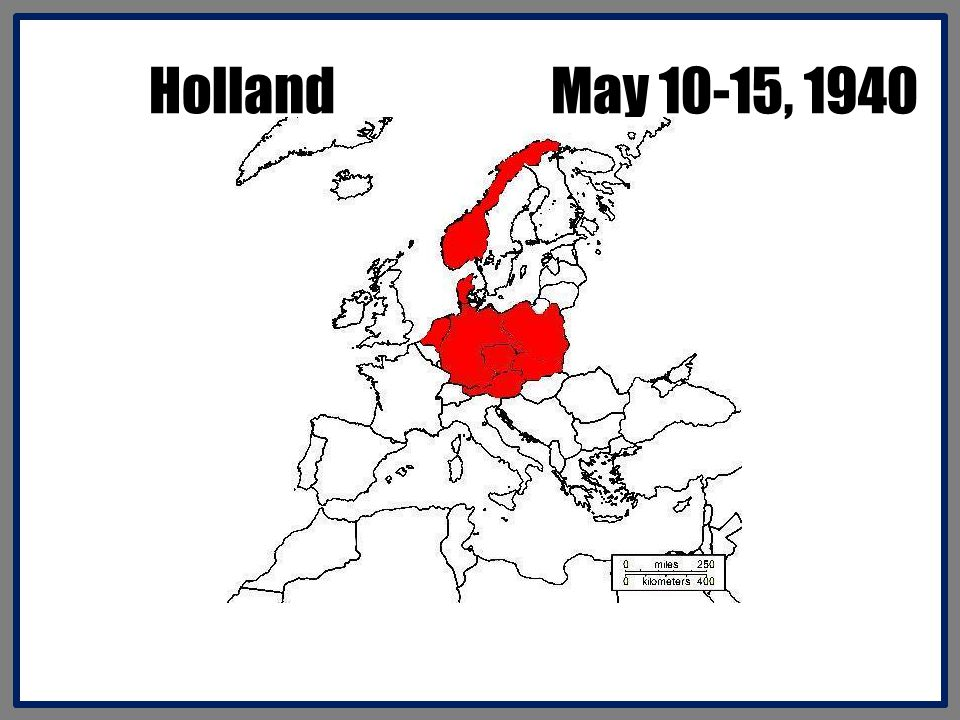 Holland May 10-15, 1940