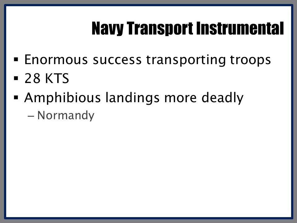 Navy Transport Instrumental