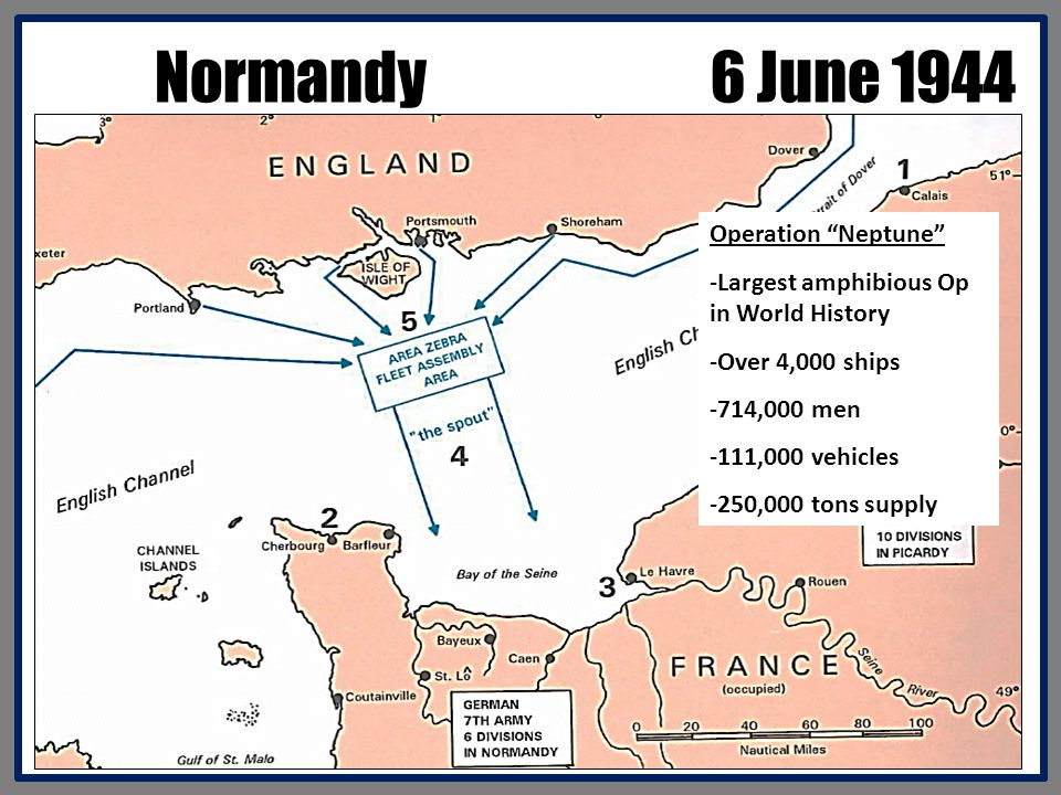 Normandy 6 June 1944 Operation Neptune