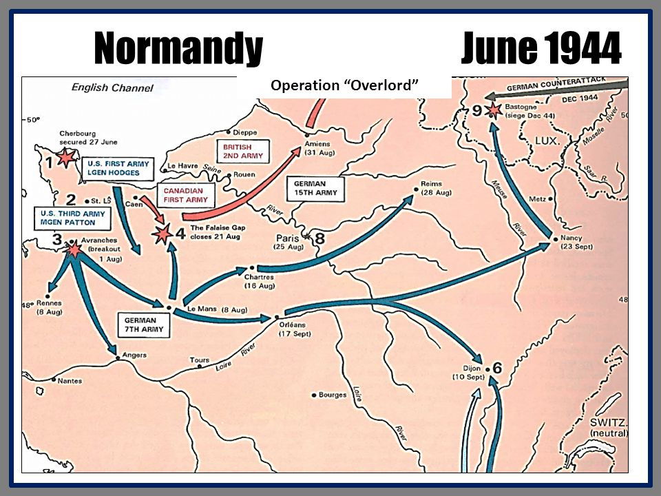 Normandy June 1944 Operation Overlord