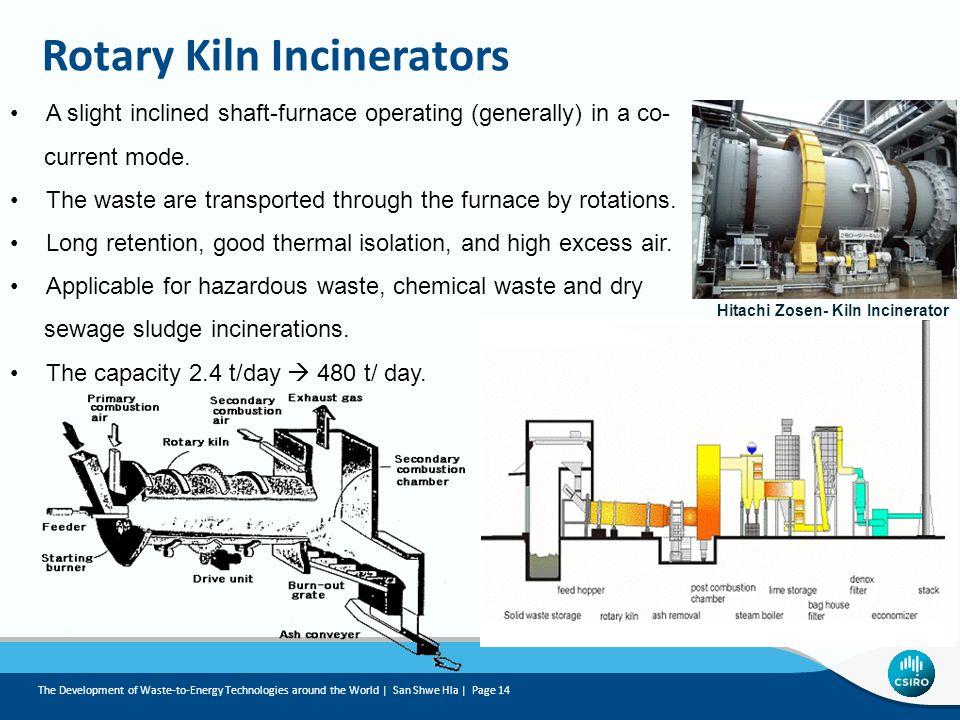 Rotary Kiln Incinerators