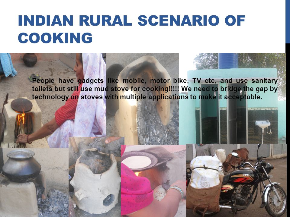 INDIAN Rural Scenario of cooking