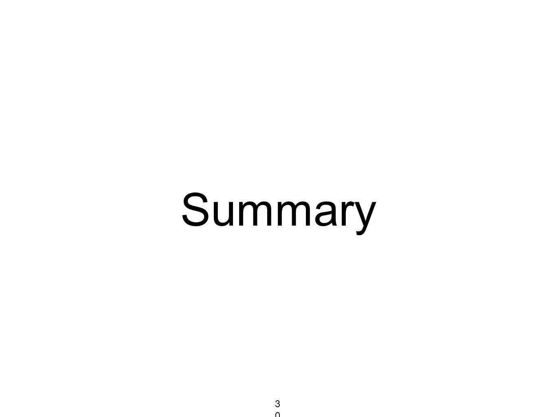 Summary 302302302
