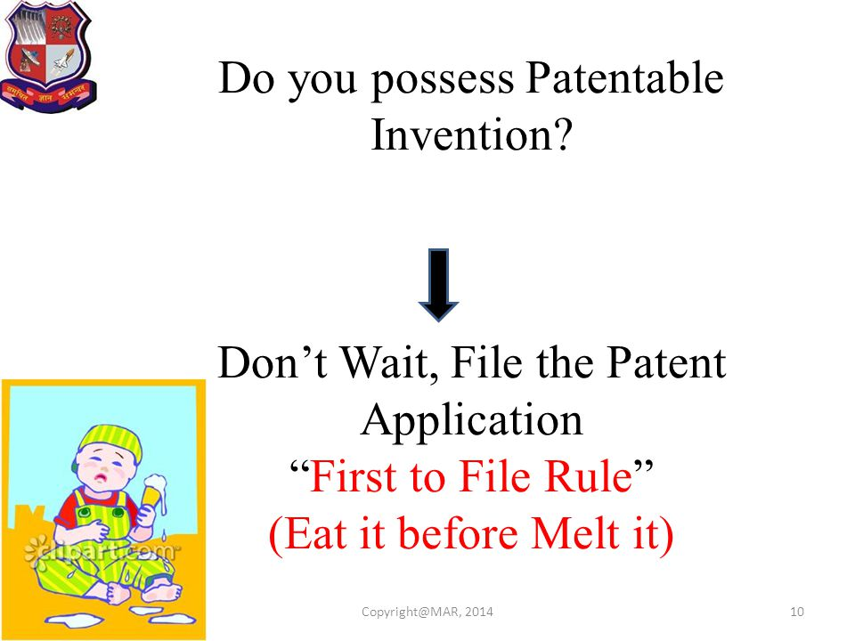 Do you possess Patentable Invention