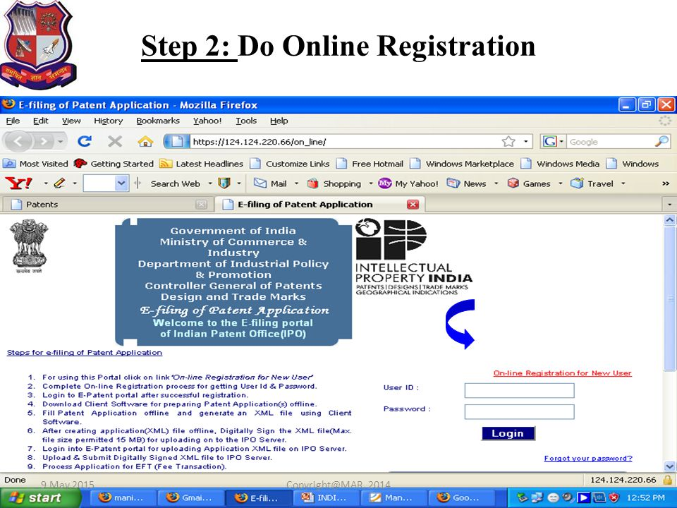Step 2: Do Online Registration
