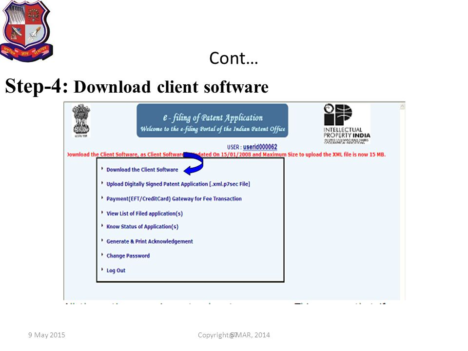 Step-4: Download client software