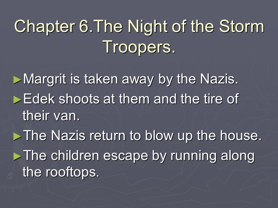 Chapter 6.The Night of the Storm Troopers.