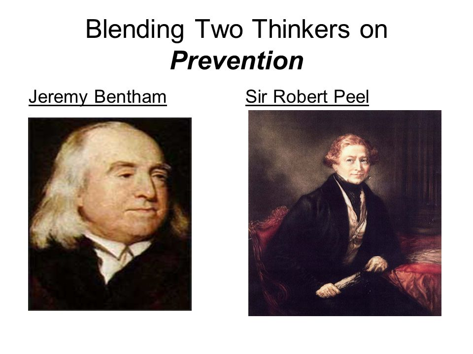 Blending Two Thinkers on Prevention