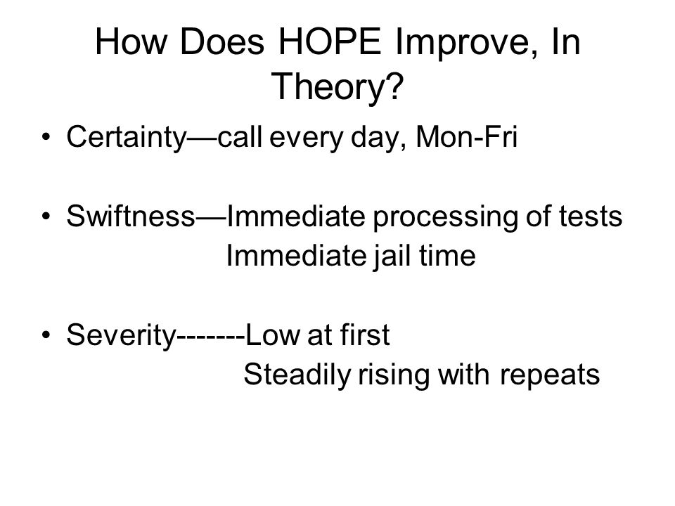 How Does HOPE Improve, In Theory