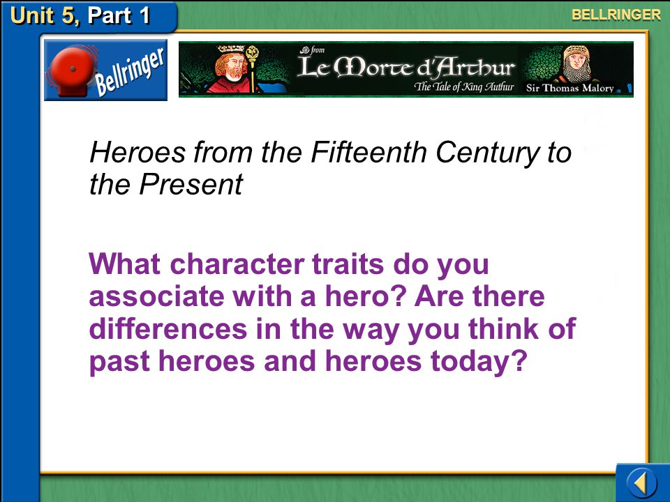 Heroes from the Fifteenth Century to the Present