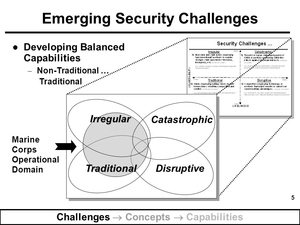 Emerging Security Challenges