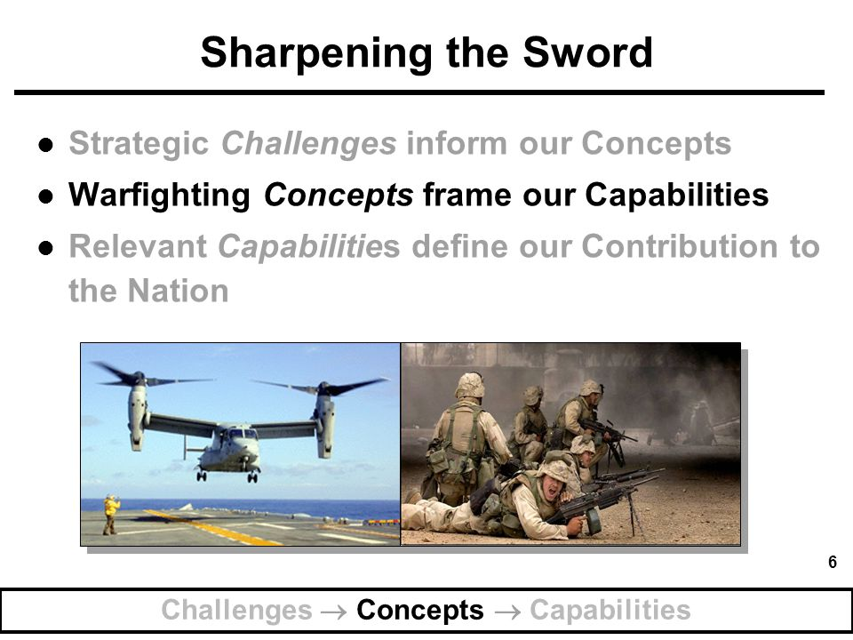 Challenges  Concepts  Capabilities