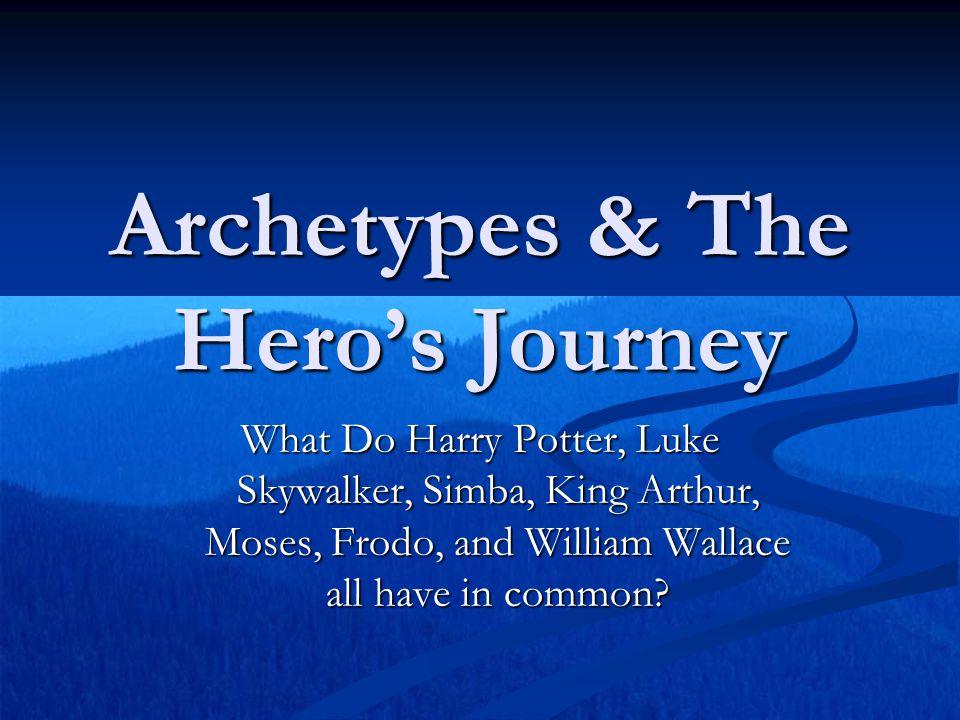 Archetypes & The Hero's Journey