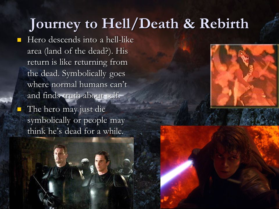 Journey to Hell/Death & Rebirth