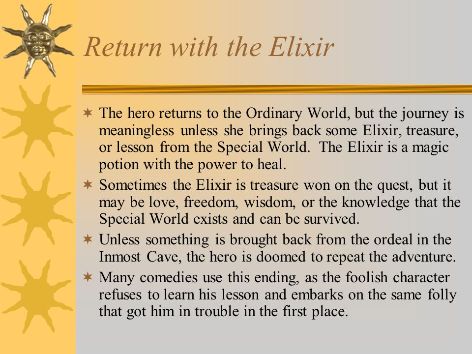 Return with the Elixir