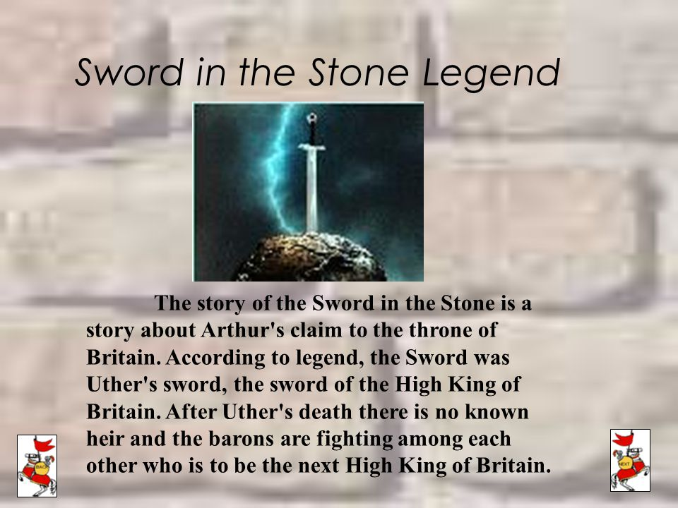 Sword in the Stone Legend