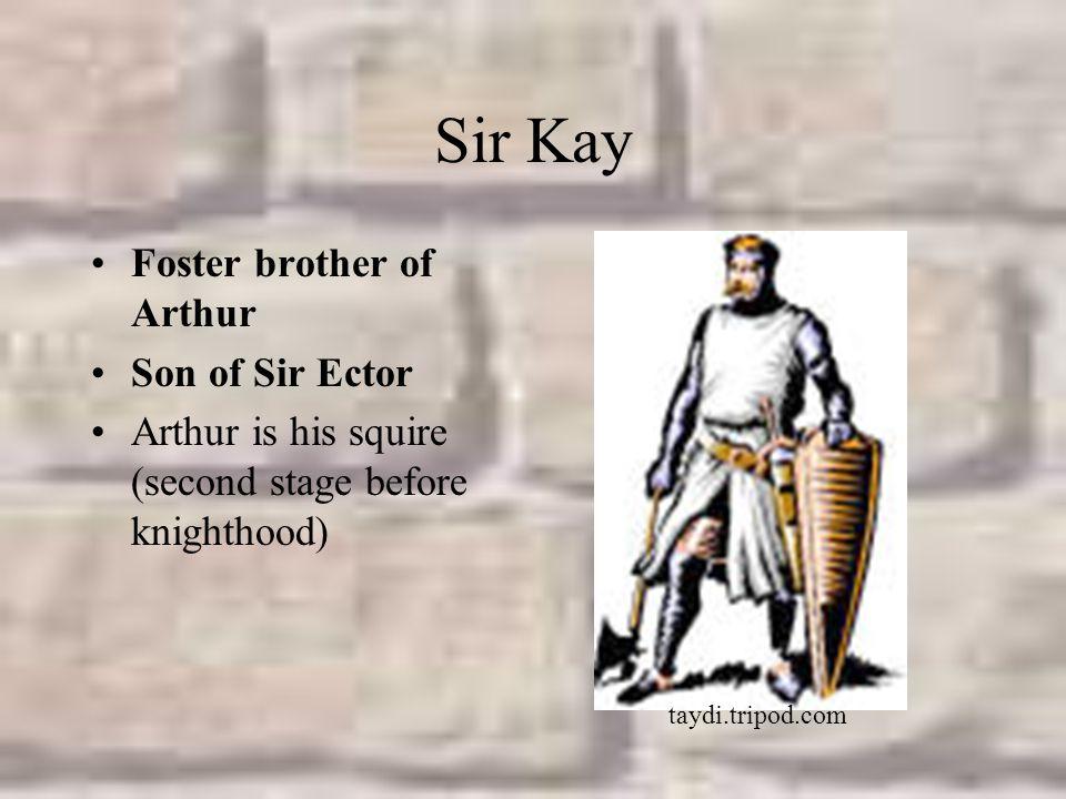 Sir Kay Foster brother of Arthur Son of Sir Ector
