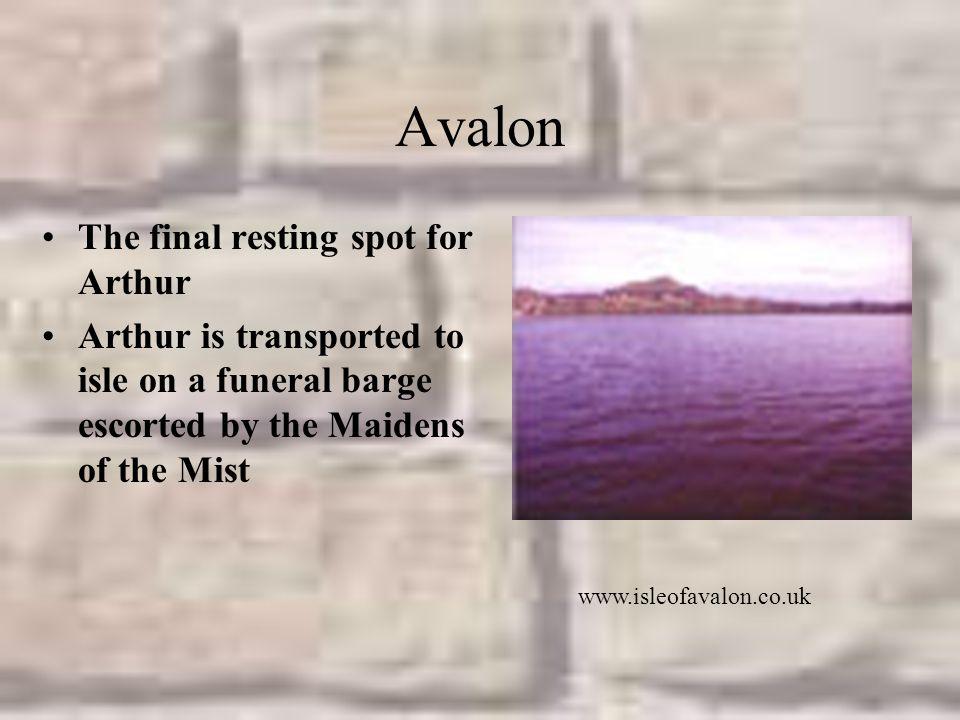 Avalon The final resting spot for Arthur