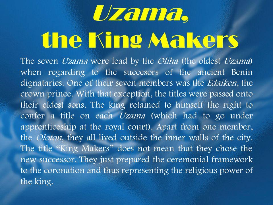 Uzama, the King Makers