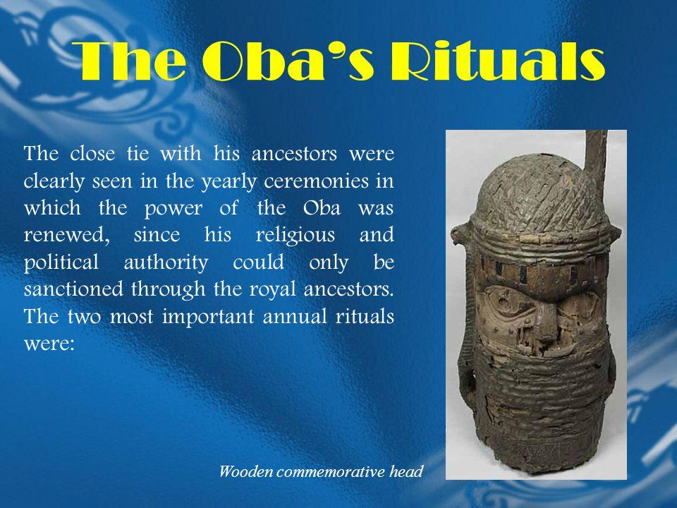 The Oba's Rituals