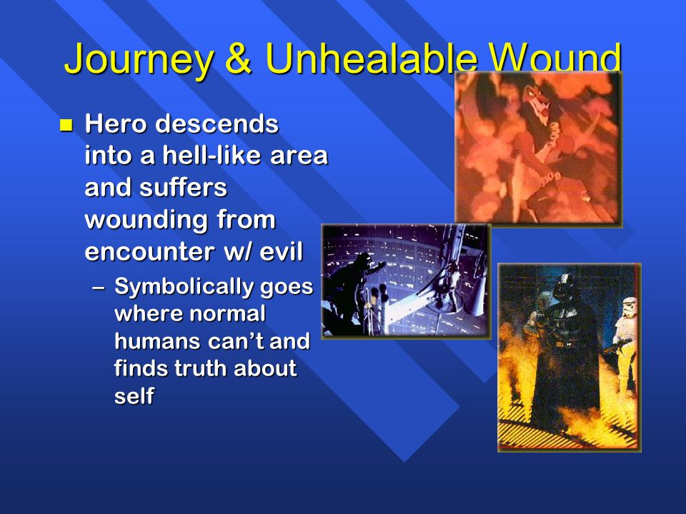 Journey & Unhealable Wound