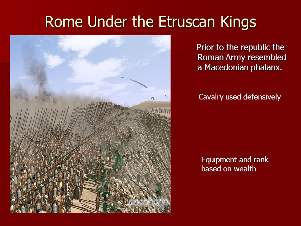 Rome Under the Etruscan Kings