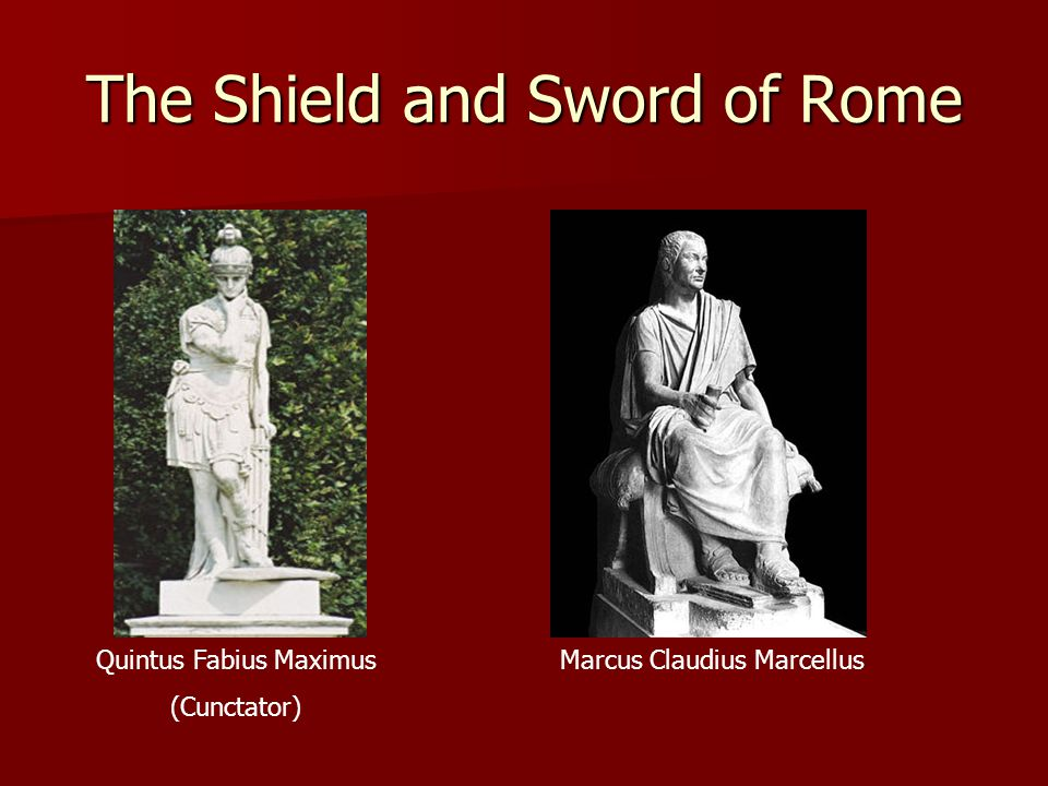 The Shield and Sword of Rome