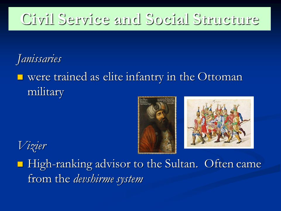 Civil Service and Social Structure