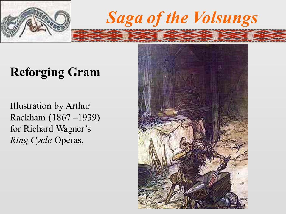 Saga of the Volsungs Reforging Gram